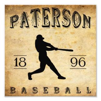 Béisbol 1896 de Paterson New Jersey Impresiones Fotográficas