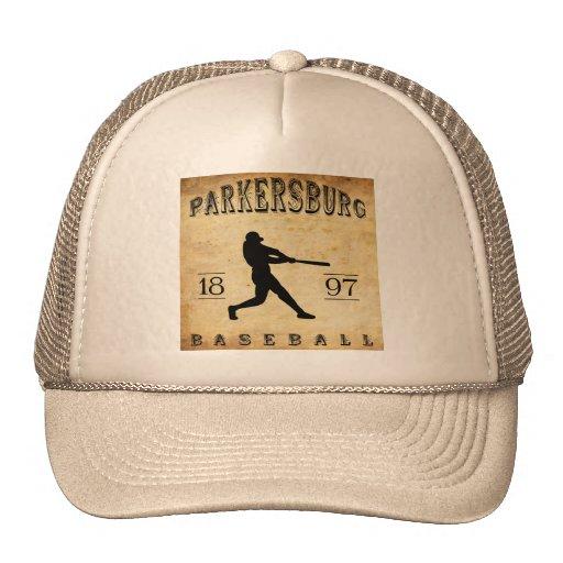 Béisbol 1897 de Parkersburg Virginia Occidental Gorros