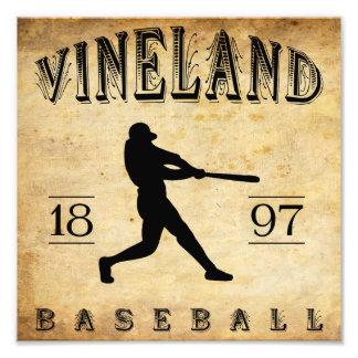 Béisbol 1897 de Vineland New Jersey Impresiones Fotográficas