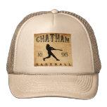 Béisbol 1898 de Chatham Ontario Canadá Gorras