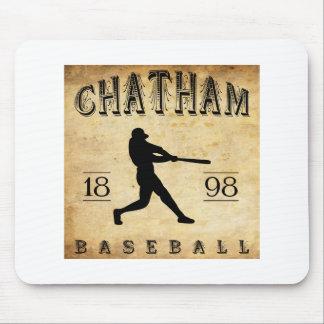 Béisbol 1898 de Chatham Ontario Canadá Alfombrilla De Raton