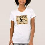 Béisbol 1898 de Denton Tejas Camisetas