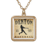 Béisbol 1898 de Denton Tejas Joyerías