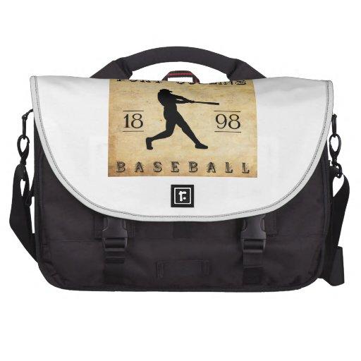 Béisbol 1898 de Fort Collins Colorado Bolsas De Ordenador