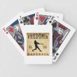 Béisbol 1898 de Fredonia Nueva York Cartas De Juego