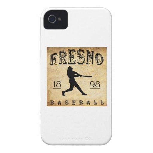 Béisbol 1898 de Fresno California iPhone 4 Case-Mate Cárcasas