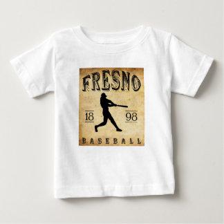 Béisbol 1898 de Fresno California Playera De Bebé