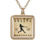 Béisbol 1898 de Kansas de la galena Pendiente Personalizado