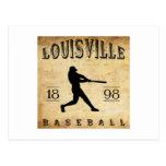 Béisbol 1898 de Louisville Colorado Tarjetas Postales
