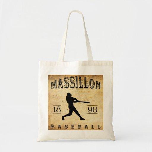 Béisbol 1898 de Massillon Ohio Bolsa