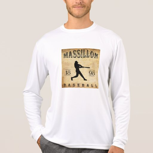 Béisbol 1898 de Massillon Ohio Camisetas