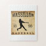 Béisbol 1898 de Massillon Ohio Puzzles
