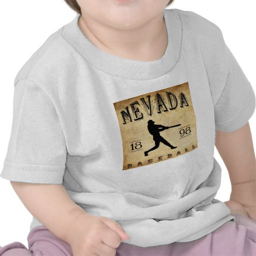 Béisbol 1898 de Nevada Missouri Camiseta