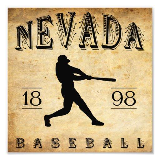 Béisbol 1898 de Nevada Missouri Cojinete