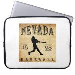 Béisbol 1898 de Nevada Missouri Mangas Portátiles