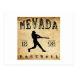Béisbol 1898 de Nevada Missouri Postal