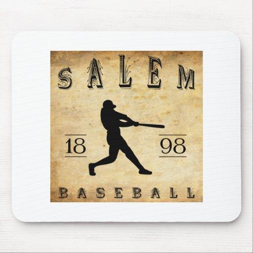 Béisbol 1898 de Salem Ohio Tapetes De Raton