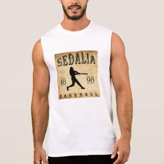Béisbol 1898 de Sedalia Missouri Playera Sin Mangas