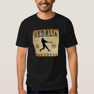 Béisbol 1898 de Sedalia Missouri Playeras
