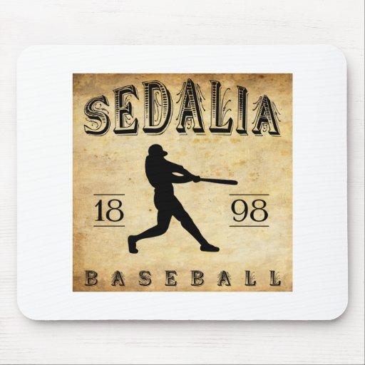 Béisbol 1898 de Sedalia Missouri Tapete De Raton