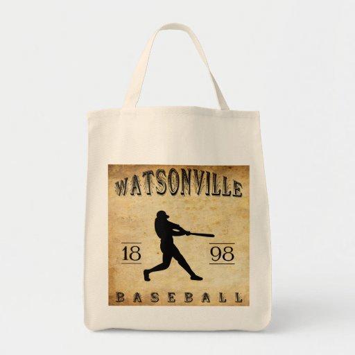 Béisbol 1898 de Watsonville California Bolsas De Mano
