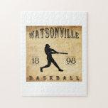 Béisbol 1898 de Watsonville California Rompecabezas Con Fotos