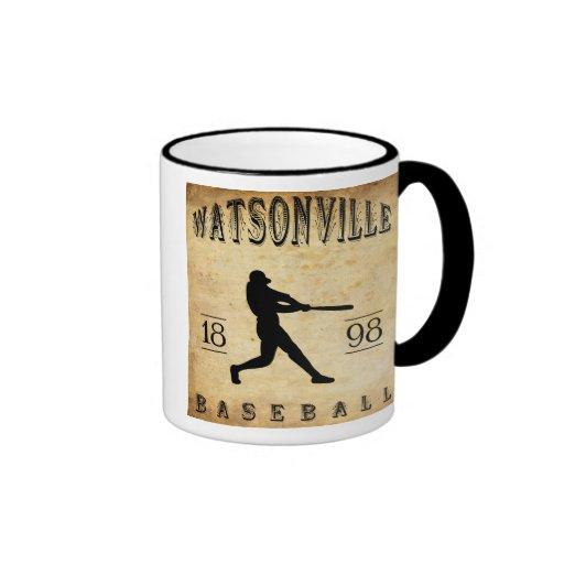 Béisbol 1898 de Watsonville California Taza A Dos Colores