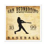 Béisbol 1899 de San Bernardino California Impresión En Lona Estirada