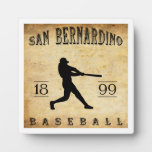 Béisbol 1899 de San Bernardino California Placas Para Mostrar