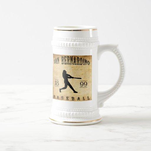 Béisbol 1899 de San Bernardino California Taza De Café