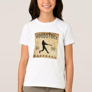 Béisbol 1899 de Woodstock Ontario Canadá Playera