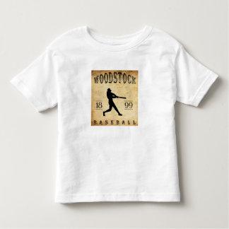 Béisbol 1899 de Woodstock Ontario Canadá Playera De Bebé