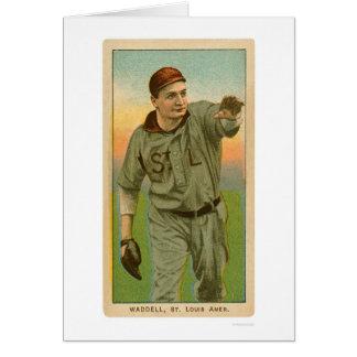 Béisbol 1909 de Rube Waddell Tarjetón