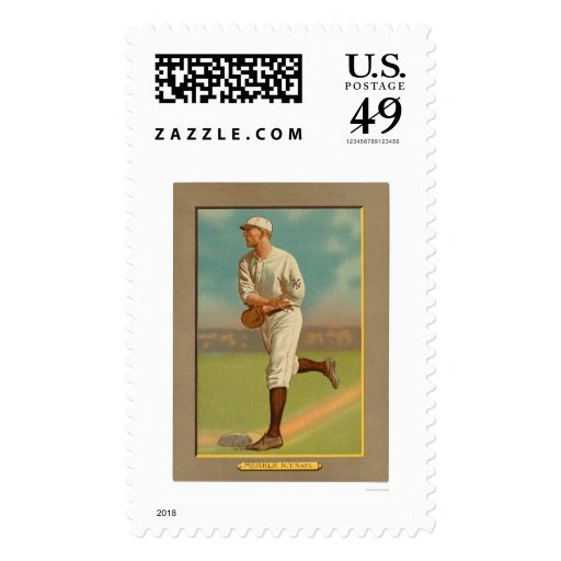 Béisbol 1909 del Boner de Fred Merkle Sello
