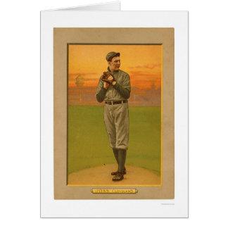 Béisbol 1911 de Addie Joss Cleveland Tarjeton