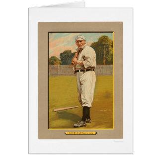 Béisbol 1911 de Bill Carrigan Red Sox Tarjeta De Felicitación