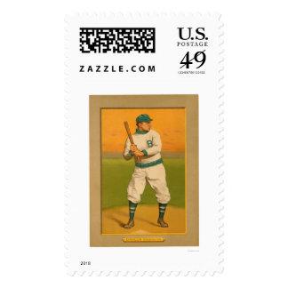 Béisbol 1911 de Bill Dahlen Dodgers Sello