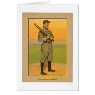 Béisbol 1911 de Lajoie Cleveland de la siesta Tarjeta De Felicitación