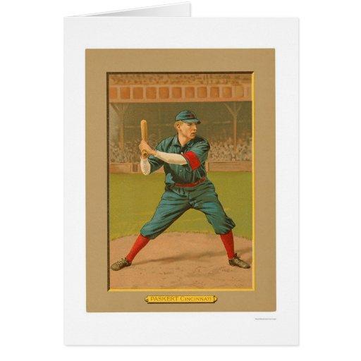 Béisbol 1911 de los rojos de Dode Paskert Tarjetas