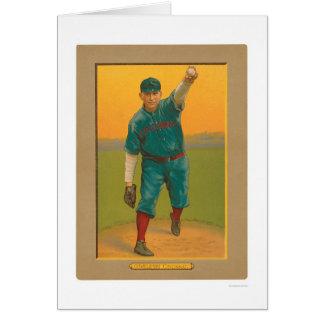 Béisbol 1911 de los rojos de Harry Coveleski Felicitacion