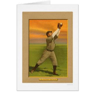 Béisbol 1911 de los tigres de Matty McIntyre Tarjeta De Felicitación