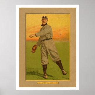 Béisbol 1911 de los tigres de Sam Crawford Impresiones