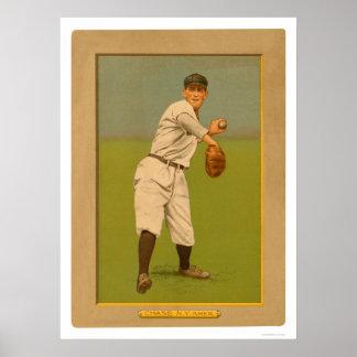 Béisbol 1911 de los yanquis de la caza de Hal Poster