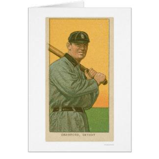 Béisbol 1911 de Sam Crawford Tarjeta De Felicitación