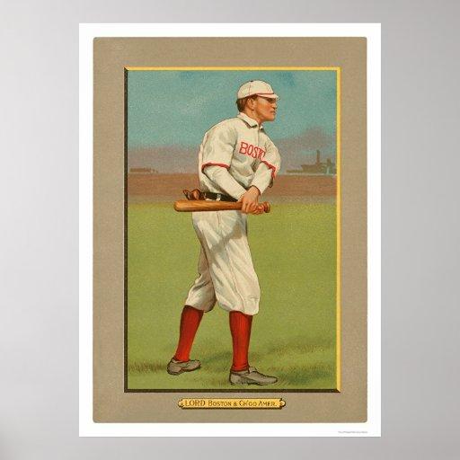 Béisbol 1911 de señor Red White Sox de Harry Posters
