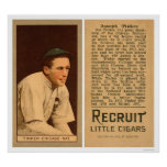 Béisbol 1912 de Cubs del chapucero de Joe Impresiones