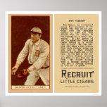 Béisbol 1912 de Del Gainor Tigers Posters