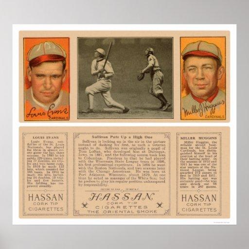 Béisbol 1912 de Sullivan White Sox Posters