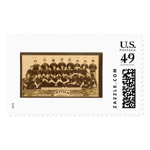 Béisbol 1913 de los Cincinnati Reds Sellos Postales