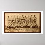 Béisbol 1913 de los Detroit Tigers Poster